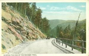 Nearing the End of the Mohawk Trail early 1900s unused Po...