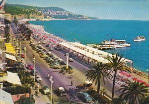 France Nice La Promenade des Anglais et le Mont-Boron 1962