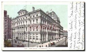 Postcard Old Post Office Philadelphia Pa