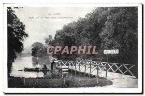 Postcard Old Lyon Park Tete d'Debarcadere