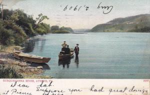 Susquehanna River, Athens, Pennsylvania, PU-1909