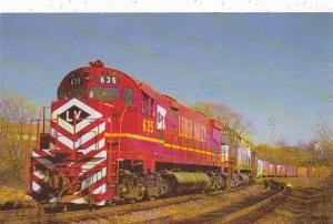 Lehigh Valley Railroad Alco C-628 #635 #633 & #641