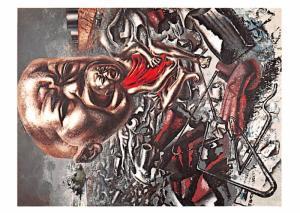 David Alfaro Siqueiros - Echo of a Scream