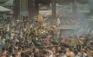 Portable Shrines and Sanja Festival of Sensoji Temple, PU-40-60s