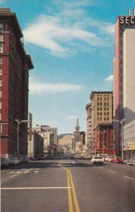 SALT LAKE CITY , Utah , 1950-60s ; Main Street
