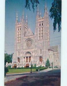 Pre-1980 CHURCH SCENE Lewiston Maine ME L5530
