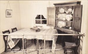 Dining Room Mark Twain Museum Hannibal Missouri Real Photo