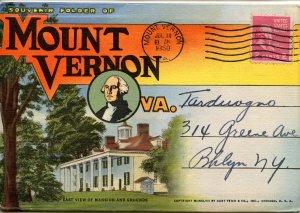 Folder -   Virginia,  Mt Vernon  18 views + narrative