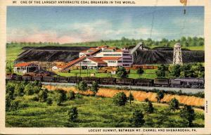 PA - Locust Summit Anthracite Coal Breaker