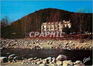 Postcard Modern Roussillon Arles sur Tech Pyrenees Orientales Hotel Castel Em...
