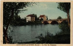 CPA   Saint-Génix-sur-Guiers (Savoie) - Le Coin des Baigneurs  (438712)