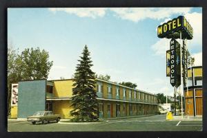 Montreal, Quebec, Canada Postcard, Motel Metropole,1960's?
