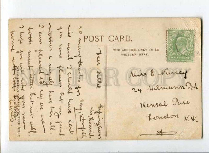 400009 UK Norwich Cathedral west front Vintage RPPC