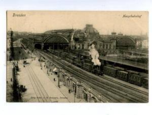 138419 Germany DRESDEN Central Railway Station Hauptbahnhof PC