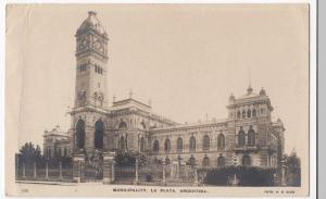 Argentina; Municipality, La Plata RP PPC By Mitchells, 1926, View Of Town Hall