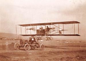 Roy Francis Pilot - Plane