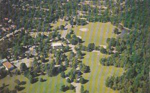 Aerial View Overton Park Memphis Tennessee 1965