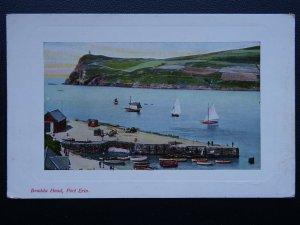 Isle of Man PORT ERIN Bradda Head - Old Postcard by Brown & Sons of Douglas