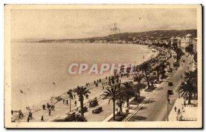 Old Postcard Nice Alpes Maritimes The Promenade des Anglais