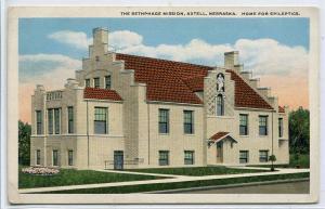 Home For Epileptics Bethphage Mission Axtell Nebraska 1920s postcard