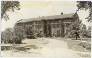 RPPC of M. E. Hospital, Mitchell, South Dakota, SD, EKC Real Photo