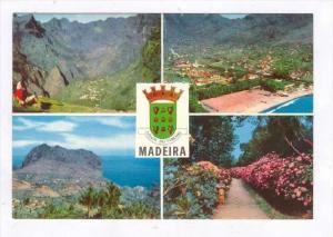 (Madeira) , Portugal, 50-60s   4-view postcard