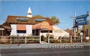 Churches Vintage Postcard Las Vegas, NV, USA Vintage Postcard Hitching Post W...