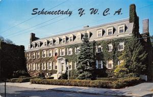 Schenectady New York~YWCA~44 Washington Avenue~Ivy Covered~1969 Postcard