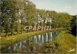 Postcard Modern Nort sur Erdre the Nantes Brest Canal Vive Eve