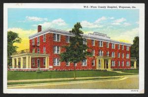 Ware County Hospital Waycross Georgia Unused c1933