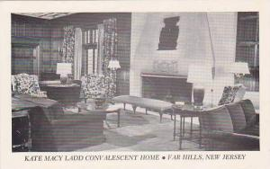 New Jersey Far Hills Kate Macy Ladd Convalescent Home