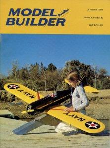 Vintage Model Builder Magazine January 1974