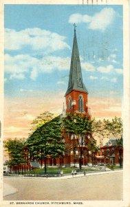 MA - Fitchburg. St. Bernard's Church