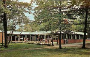 Madison New Jersey~Drew University Center~Union Building~1970s Postcard