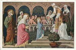 Fr. M. Schmalzi C. Ss. R., Maria Opferung religious postcard