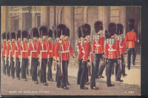 Military Postcard - Coldstream Guards - Bank of England Picket  HP86
