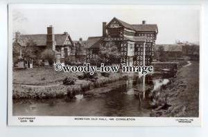 tp9021 - Cheshire -  Tudor Moreton Old Hall by River, nr. Congleton - postcard
