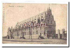 Belgium Tournai Old Postcard L & # 39entrepot
