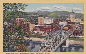 South Side Bridge And Business Center Charleston West Virginia