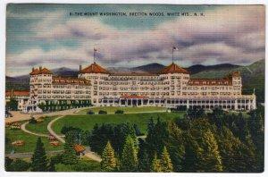 Bretton Woods, White Mts., N.H., The Mount Washington