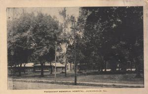 JACKSONVILLE, Illinois, 1900-10s ; Passavant Memorial Hospital