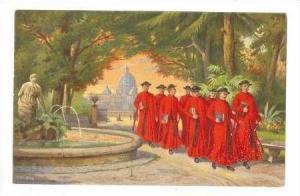 Roma - Monte Pincio Studenti del Collegio Germanico, 00-10s Italy