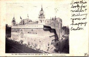 New York City Hippodrome 6th Avenue and 43rd Street 1906