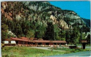 OURAY, Colorado CO   Roadside ELKHORN RANCH MOTEL c1960s  Postcard