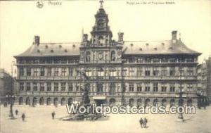 Anvers Netherlands, Nederland Hotel de Ville et Fontaine Brabo  Hotel de Vill...