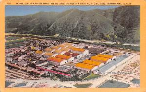 Home of Warner Brothers & First National Pictures, Burbank, California Movie ...