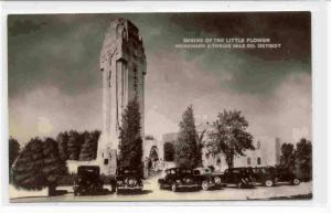 RP; Shrine of the Little Flower, Woodward & Twelve Mile Road, Detroit, Michig...