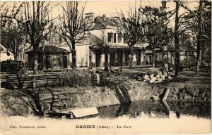 CPA Braine - La Gare (157960)