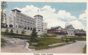 LAKE LOUISE , Alberta , Canada , 1910s ; Chalet