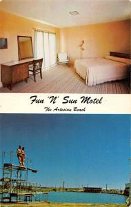 Gage Oklahoma Fun N Sun Motel Multiview Vintage Postcard K58552